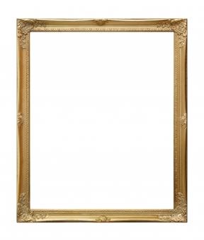 アンティークフレーム(ゴールド)Lの写真