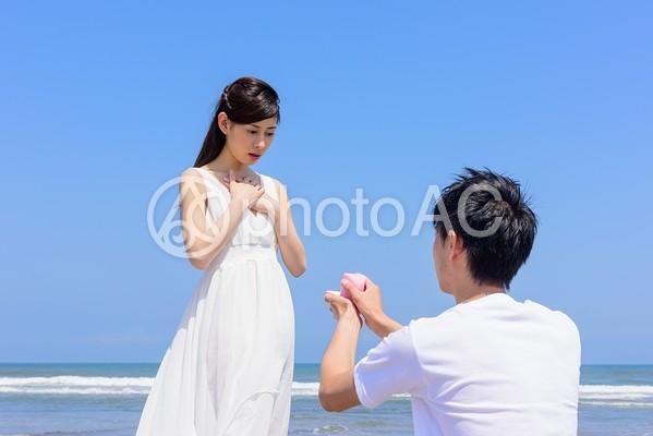 ビーチでプロポーズ11の写真