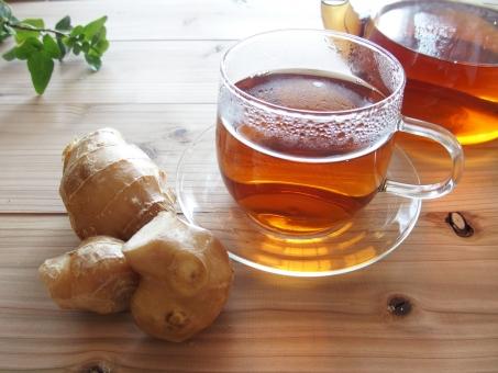 しょうが紅茶の写真