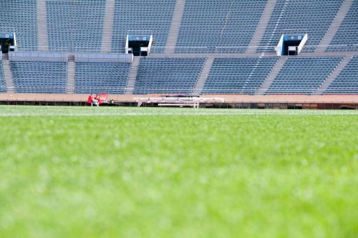 芝生 競技場 サッカー グラウンド スタンド 国立競技場