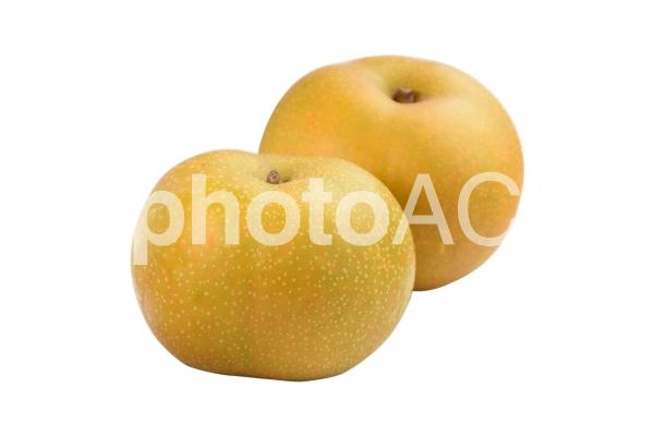 2個のナシの切り抜きpsdの写真