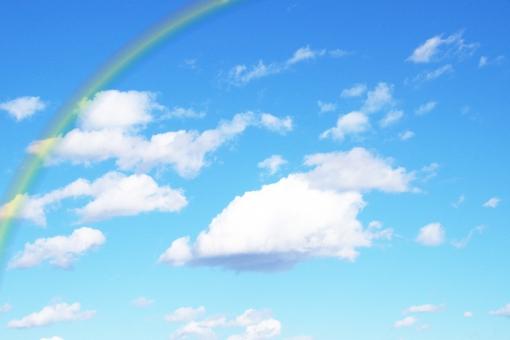 青空と虹の写真素材|写真素材なら「写真AC」無料(フリー)ダウンロードOK