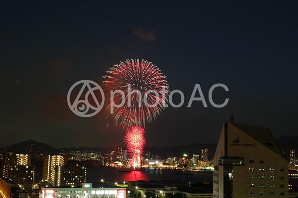 神戸の花火大会3の写真
