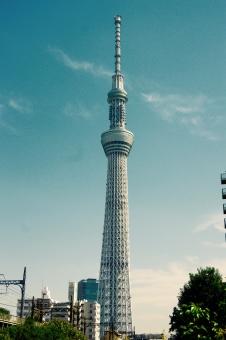 東京スカイツリー 東京 tokyo sky tree TOKYO SKY TREE Tokyo Sky Tree 浅草 Asakusa 青空 青 空 あおぞら あお そら 雲 くも タワー Tower tower 観光 634m 快晴 高さ 高い