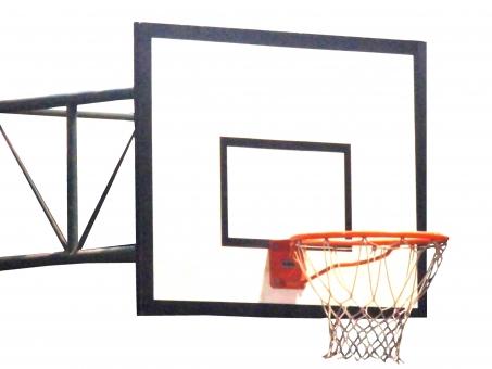バスケ バスケット バスケットゴール スポーツ 校庭 学校 クラブ サークル 小学校 中学校 高校 club 体育 体育館 部活 アウトドア ネット 屋外 見上げる 運動 競技 試合 練習 授業 室内 道具 設備 リング バックボード シュート