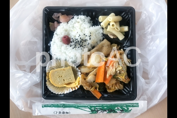 豚キムチ弁当の写真