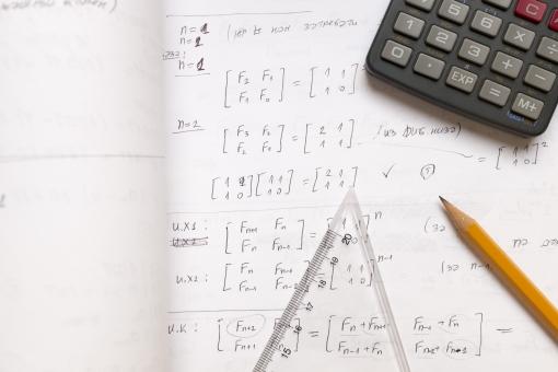 鉛筆 ノート 電卓 三角定規 ペン ペンシル メモ メモ帳 筆記帳 ノート 雑記帳 控帳 定規 物差 文具 文房具 筆記具 筆記用具 学習 用品 算数 数字 線 角 角度 計算 数 計算式 関数 数式