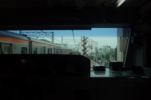 中央線 快速 最後部 風景 中央線の下り電車 jr東日本