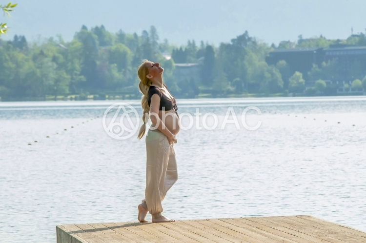 外国人モデル 妊婦36の写真