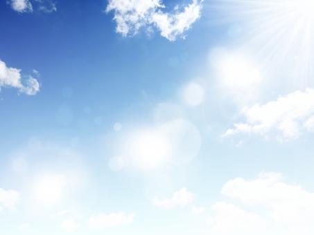 青空 空 光 晴天 天気 秋晴れ 乾燥 紫外線 宇宙 地球 太陽 空っ風 風 空気 風景 自然 公園 散歩 清々しい 朝 早い 早朝 昼間 昼 背景 夏日 真夏日 まぶしい 眩しい 7月 8月 バックグランド バックグラウンド かがやき 輝き 素敵 綺麗 テクスチャ 壁紙 雲 降り注ぐ グラデーション 春 夏 秋 冬