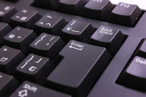 キーボード パソコン ビジネス 通信 産業 インターネット メール IT 周辺機器 屋内 オフィス アイテム 入力装置 家電 事務用品 デスクトップ デスクワーク PC ボタン OA機器 スティルライフ 機械 シンプル ビジネスアイテム 静物 黒 クローズアップ ブラック