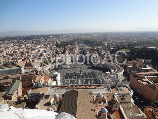 ヴァチカン サンピエトロ大聖堂からの眺めの写真
