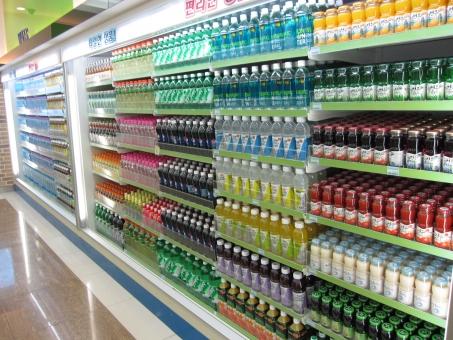 海外 外国 韓国 コンビニ 飲み物 ペットボトル ドリンク