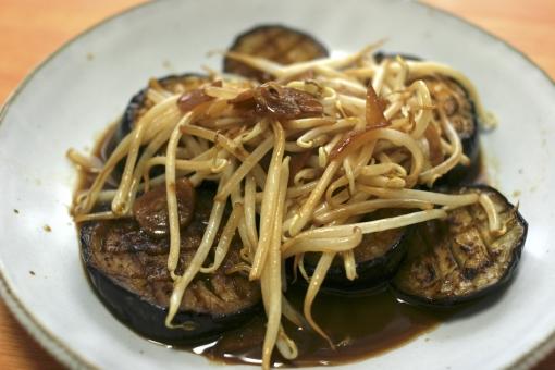 米茄子 べいなす 米なす 茄子 ナス おかず 自炊 手作り 野菜 もやし