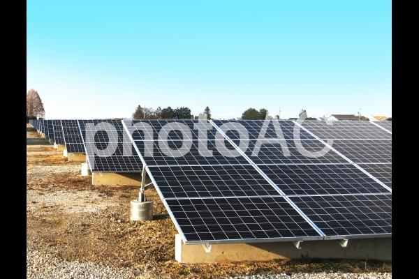 太陽光発電(ソーラーパネル)の写真