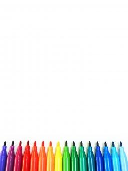 背景 バックグラウンド 文房具 文具 筆記用具 筆記具 水性 油性 ペン ペン先 水性ペン 油性ペン フェルトペン マーキングペン サインペン カラーペン ペンセット マーカー 水性マーカー 油性マーカー マーカーペン ラインマーカー カラーマーカー マジック 水性マジック 油性マジック マジックペン マジックインキ カラーマジック 白 ホワイト 虹色 レインボー レインボーカラー 色 色彩 カラー カラーチャート カラフル 色とりどり 鮮やか ポップ 文字スペース テキストスペース コピースペース メッセージスペース 白背景 白バック
