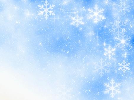 雪景色 背景の写真