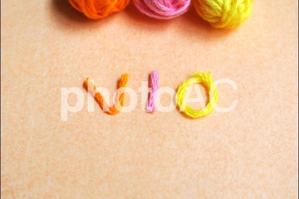 毛糸 VIOの写真