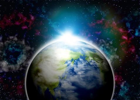 earth 宇宙 宇宙空間 未来 近未来 フラッシュ 輝き 星 star 天体 星雲 光 背景 背景素材 バック バックグラウンド background 栄光 将来 明るい SF 科学 サイエンス science ビジネス cosmos  universe エコ エコロジー 環境