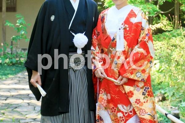 和装結婚式の写真