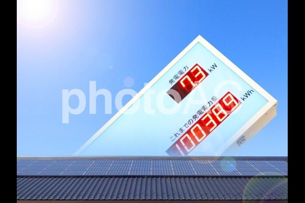 太陽光発電のイメージの写真