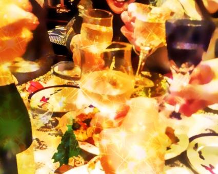 パーティー 乾杯の写真