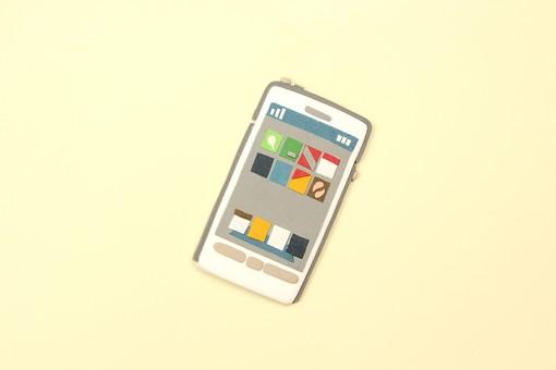 クレイ クレイアート クレイドール ねんど 粘土 クラフト 人形 アート 立体イラスト 粘土作品 かわいい スマートフォン スマホ 模型 アンドロイド iphone  携帯電話 ケータイ デジタル 液晶 タッチパネル 社会 つながり アプリ