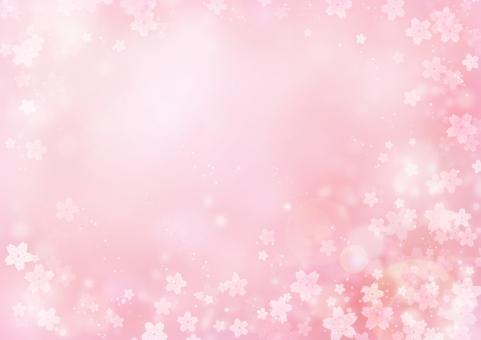 背景 背景素材 テクスチャ 桜 サクラ さくら 春 ピンク 花 花柄 桃色 光 きらめき 輝き キラキラ きらきら 卒業 卒業式 入学 入学式 新学期 淡い 4月 壁紙