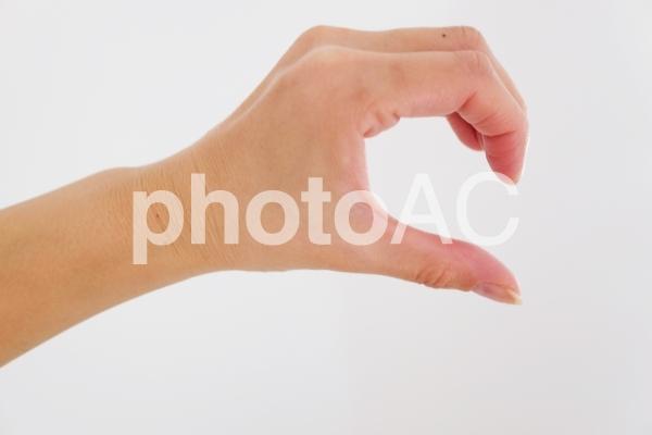 ハートの片割れ 女性2の写真