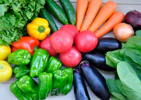 緑黄色野菜たくさん#4の写真