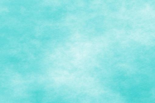和紙 色紙 台紙 紙 ちぢれ ゴワゴワ テクスチャー 背景 背景画像 ファイバー 繊維 水色 翡翠 水 青 浅葱 ブルー ライトブルー アクアマリン 空 スカイブルー 空色 シアン