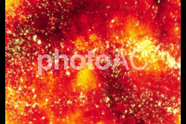 火焔イメージの背景の写真