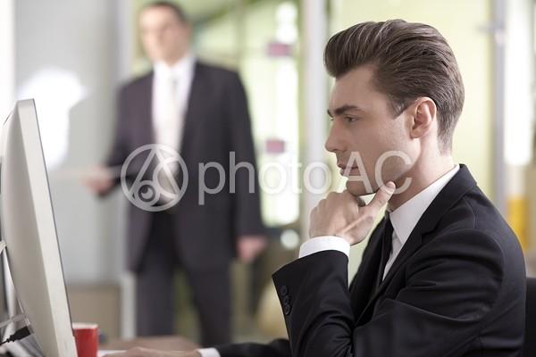 外国人ビジネスマン236の写真