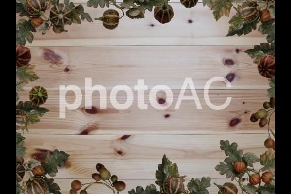 カボチャのフレームの写真