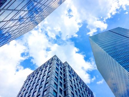 都会の高層ビル群1の写真