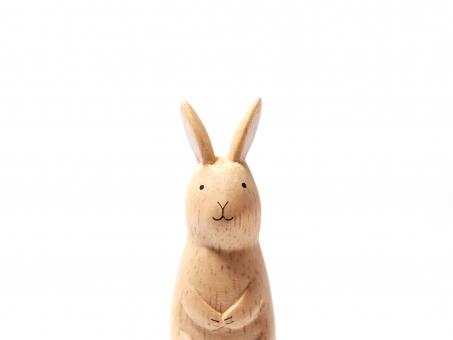 うさぎ 兎 ウサギ 木製 木 木工 材木 木材 飾り インテリア マスコット おもちゃ キュート かわいい 和み 和む 和風 和 挨拶 メッセージ 置き物 人形