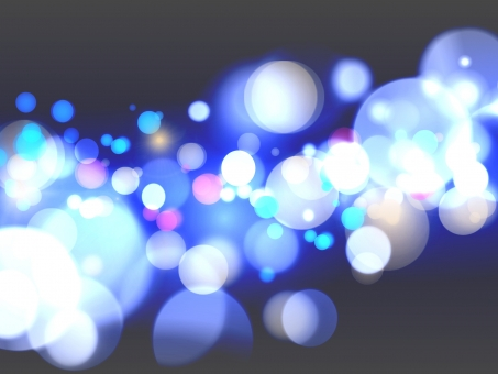 光 ネオン イルミネーション クリスマス 冬 街 街並み 夜景 ライトアップ ライト 車 デート カップル 恋愛 幻想的 キラキラ きらきら 眩しい 青 黒 背景 テクスチャ 壁紙 カード ポストカード 丸 水玉 宇宙 入る サプライズ