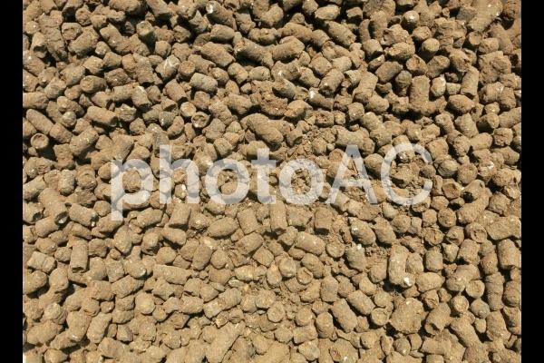 肥料ペレットの写真