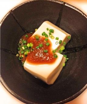 豆腐 とうふ 味噌和え 小鉢 食べ物 食品 料理 調理 グルメ 軽食 箸休め おかず おつまみ 肴 風景 景色 食事 食