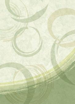 テクスチャ 壁紙 背景 バックグラウンド クラフト紙 クラフトペーパー ベージュ 和風 和柄 便箋 下地 和紙 ヴィンテージ ビンテージ 古紙 包装紙 a3サイズ a3対応 高解像度 水玉 筆 毛筆 丸 輪 大理石風 抹茶色 緑色 グリーン ブルーグレー 風呂敷