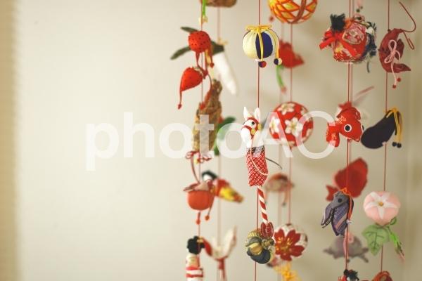 吊るし雛の写真
