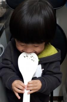 食いしん坊の写真