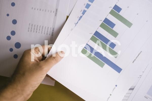 チャートグラフ・棒グラフ16の写真