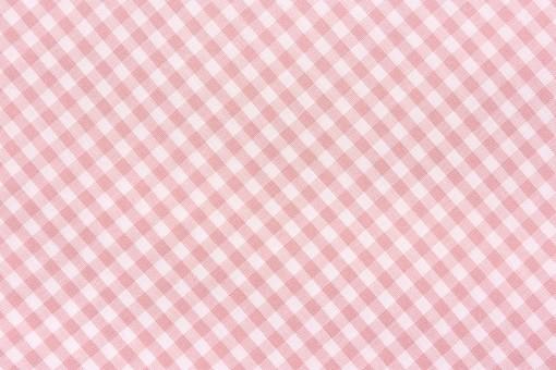 布 織物 チェック 格子 生地 綿 木綿 背景 背景素材 バック パターン バックグラウンド テーブルクロス 柄 模様 テクスチャ テクスチャー 素材 壁紙 テキスタイル 布地 チェック柄 ギンガムチェック カジュアル ナチュラル  ピンク色 ピンク