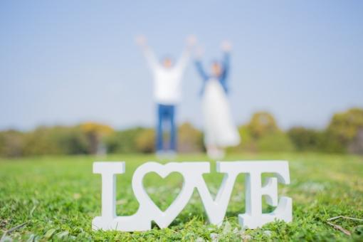 LOVEの写真