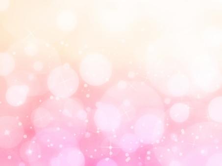 ほんわかキラキラ(ピンク)の写真