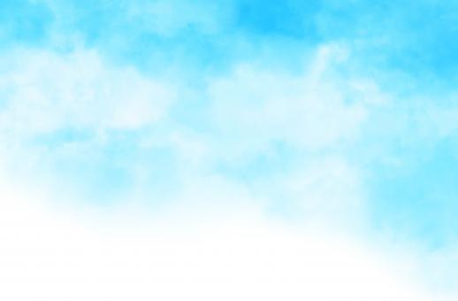 水彩テクスチャ[5]スカイブルーの写真