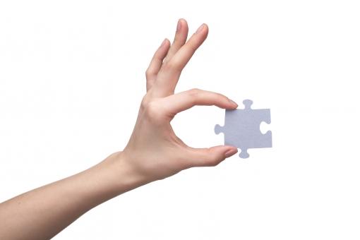 パズル ジグソー ジグソーパズル パズルピース ピース グレー 無地 手 片手 左手 親指 人差し指 中指 薬指 小指 手の甲 手首 素手 素肌 つかむ はさむ 持つ 握る 見せる 遊ぶ 一片 欠片 かけら おもちゃ 玩具 ゲーム 工作 ハンドポーズ ポーズ ハンドパーツ パーツ 白バック 白背景