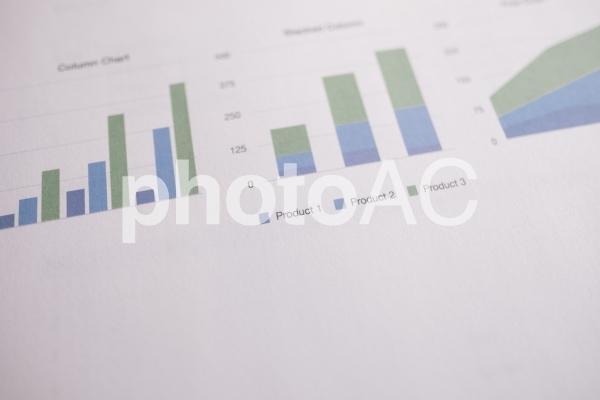 チャートグラフ・棒グラフ5の写真