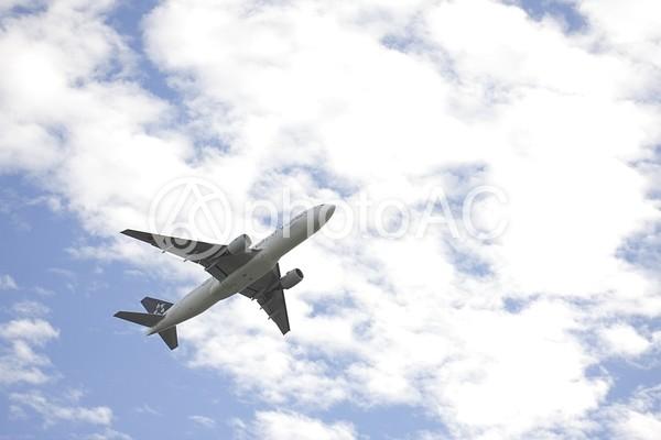 飛行機と空12の写真